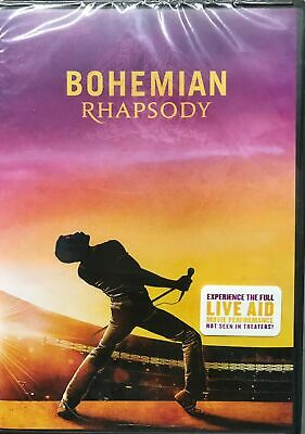 Bohemian Rhapsody DVD. Sealed with free delivery.