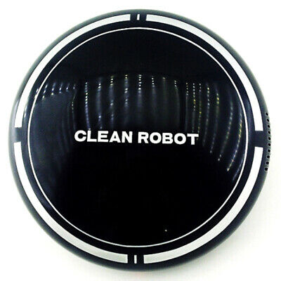 Cartoon Lazy White/Black Small Automatic Robotic Vacuum Cleaner Robot USB Charge