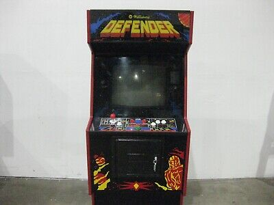 Williams Defender 19 in 1 upright arcade machine console game