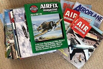 Bundle of Air Pictorial and other related magazines