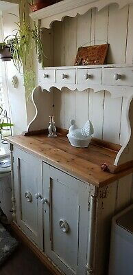 Shabby chic Antique Welsh Dresser