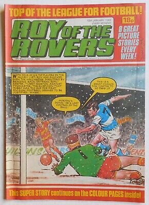 ROY OF THE ROVERS Comic - 15th January 1983