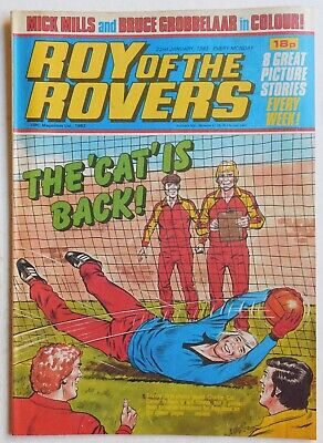 ROY OF THE ROVERS Comic - 22nd January 1983