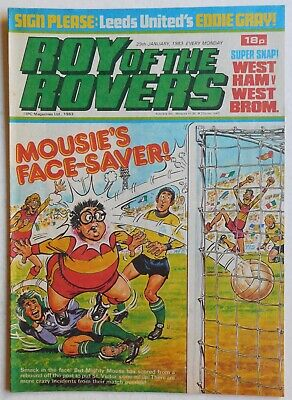 ROY OF THE ROVERS Comic - 29th January 1983