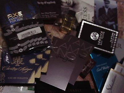 LOT OF 30x MENS COLOGNE SAMPLES  - VERSACE SPECIAL-*4 versace*,gucci guilty,bvgl
