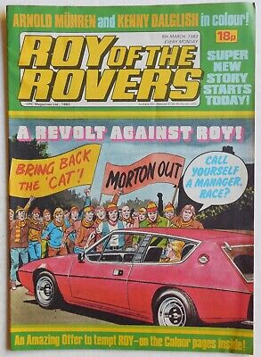 ROY OF THE ROVERS Comic - 5th March 1983