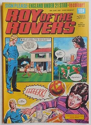 ROY OF THE ROVERS Comic - 18th June 1983