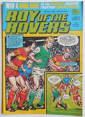 ROY OF THE ROVERS Comic - 16th July 1983