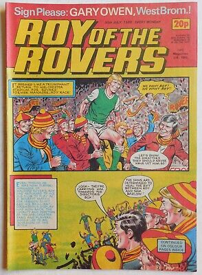 ROY OF THE ROVERS Comic - 30th July 1983
