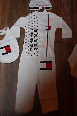 Baby boys Tommy Hilfiger outfit age newborn