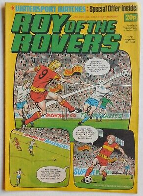 ROY OF THE ROVERS Comic - 13th August 1983