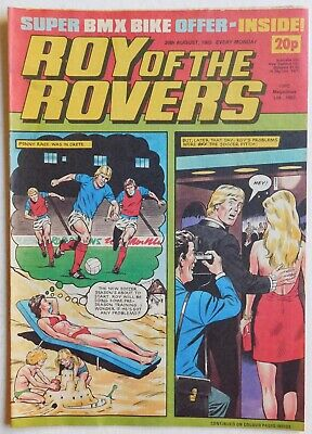 ROY OF THE ROVERS Comic - 20th August 1983
