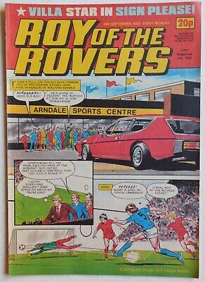 ROY OF THE ROVERS Comic - 24th September 1983