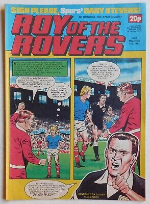 ROY OF THE ROVERS Comic - 8th October 1983