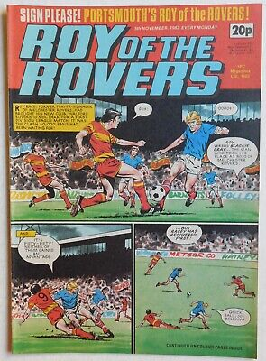 ROY OF THE ROVERS Comic - 5th November 1983