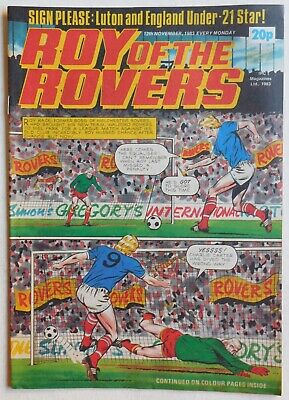 ROY OF THE ROVERS Comic - 12th November 1983