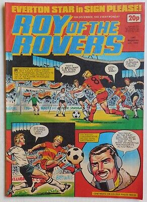 ROY OF THE ROVERS Comic - 10th December 1983