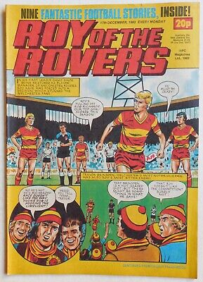 ROY OF THE ROVERS Comic - 17th December 1983