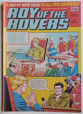 ROY OF THE ROVERS Comic - 31st December 1983