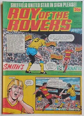ROY OF THE ROVERS Comic - 14th January 1984