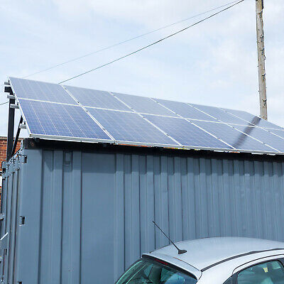 20ft Storage Container with Solar Panels and 5kW Off-Grid Inverter