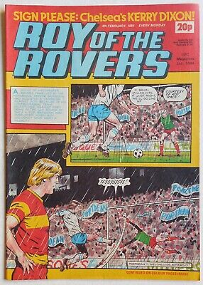 ROY OF THE ROVERS Comic - 4th February 1984