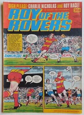 ROY OF THE ROVERS Comic - 11th February 1984
