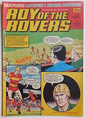 ROY OF THE ROVERS Comic - 18th February 1984