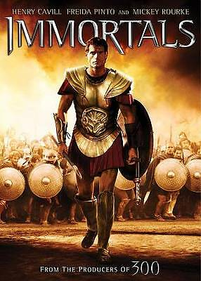 Immortals (DVD, 2012) GREAT CONDITION !!!!
