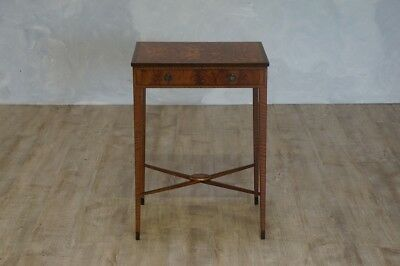 Antique Inlaid Satinwood Side Table