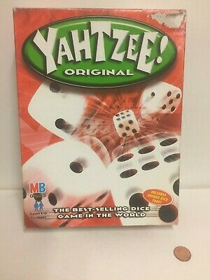 Yahtzee Original - F/VGC - Complete - from MB Games 2002; rules have been copied