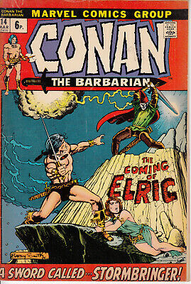 Marvel Conan the Barbarian, #14, 1972, Roy Thomas, Barry Smith