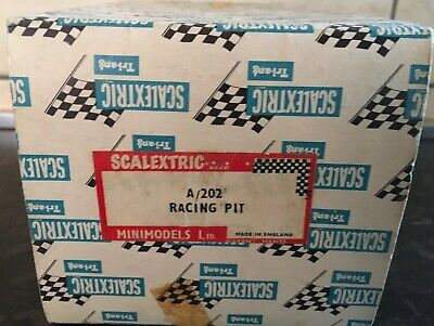Scalextric Racing Pit A/202