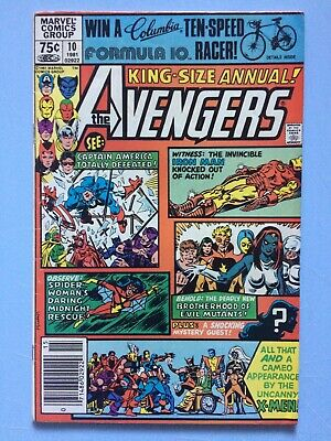 The Avengers Annual # 10 Marvel Comics 1981 Bronze Age First Apperance of Rouge