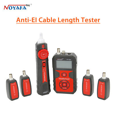 NOYAFA NF-858C LCD Display Anti-EL Lan Cable Wire Network Length Tester Tracker