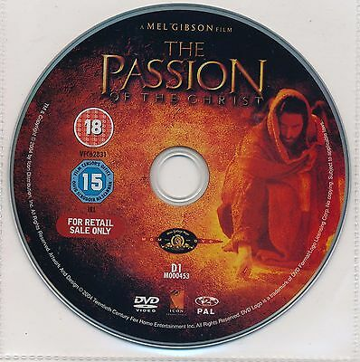The Passion Of The Christ (Dvd, 2004) - Disc Only - Brand New