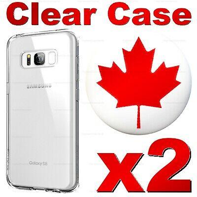 Superior Clear Case For Note 8, S8, S8 Plus Transparent Soft Cover For Samsung