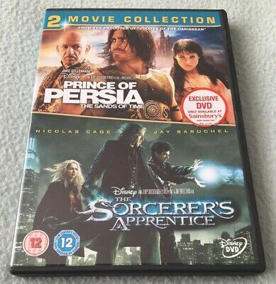 Disney's Prince of Perisa & The Sand Of Time & The Sorcerer's Apprentice DVD