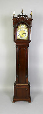 A Mahogany Grandmother Clock By John Walker London