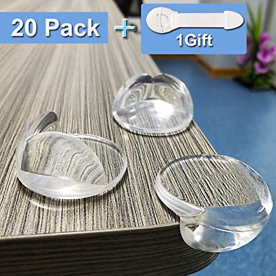 Niviy Corner Protectors for Kids Baby Safety Table Corner Bumpers Guards with No