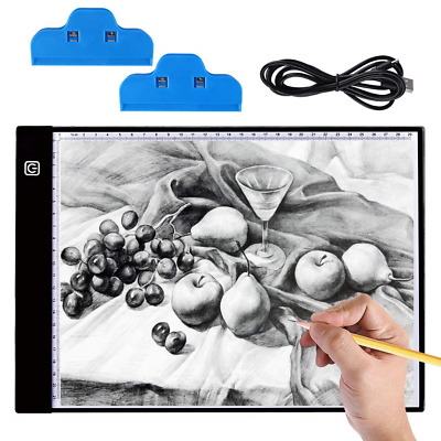 Light Box Drawing A4, Hisome LED Board Lights Ultra-thin 3.5mm Light Pad Copy 3
