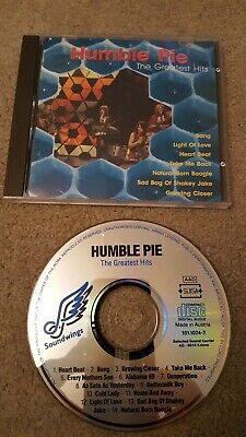 Humble Pie - The Greatest Hits - Humble Pie CD B4VG The Cheap Fast Free Post The