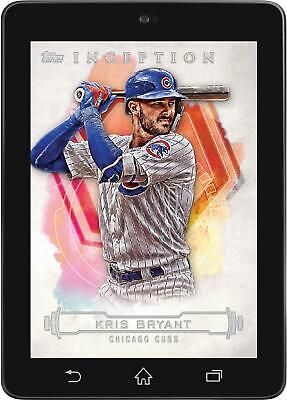 Topps BUNT Kris Bryant BASE INCEPTION 2019 [DIGITAL CARD] 250cc