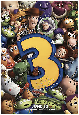 Toy Story 3 2010 27x40 Orig Movie Poster FFF-74118 Rolled Tom Hanks