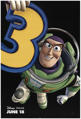 Toy Story 3 2010 27x40 Orig Movie Poster FFF-74113 Rolled Tom Hanks