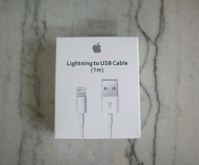 Genuine Original OEM Apple iPhone X XR XS Lightning USB Cable Charger 1M