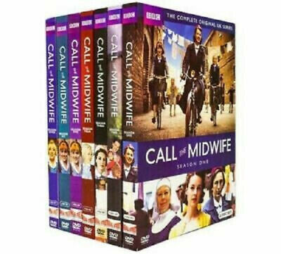 Call the Midwife: Complete Series Seasons 1-7 DVD Set New