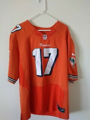 Wholesale NEW NIKE MIAMI Dolphins Ryan Tannehill Football Jersey Mens Large  for cheap