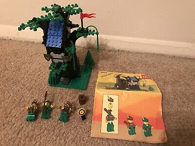 Lego Castle Forestmens Hideout 6054 100 Complete W Instructions