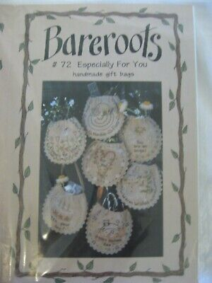 Bareroots 72 Especially for you Gift Bag Birthday Xmas Stitch Embroidery Pattern